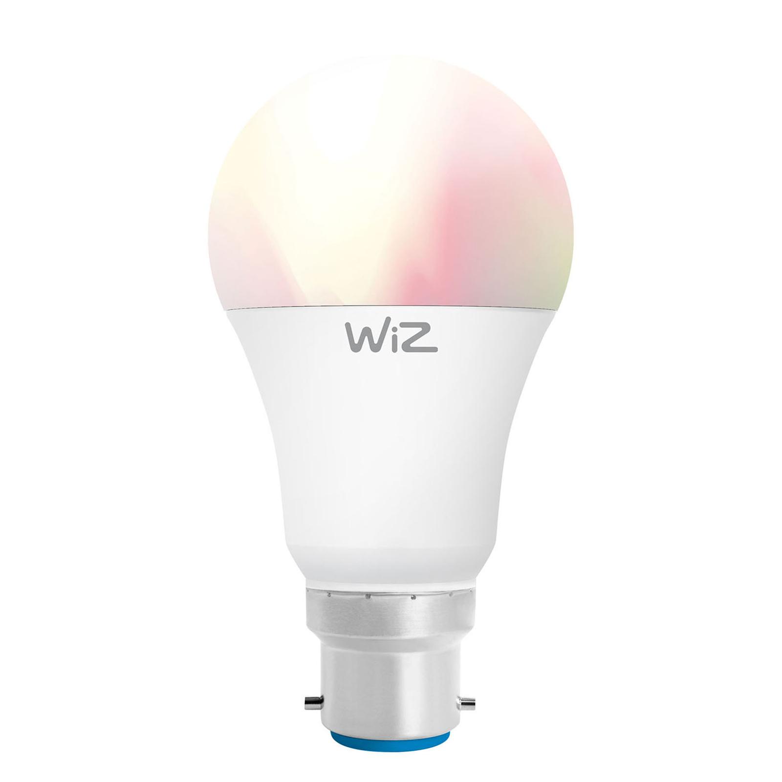WiZ B22 LED-Lampe Birne A60 matt 9W RGBW