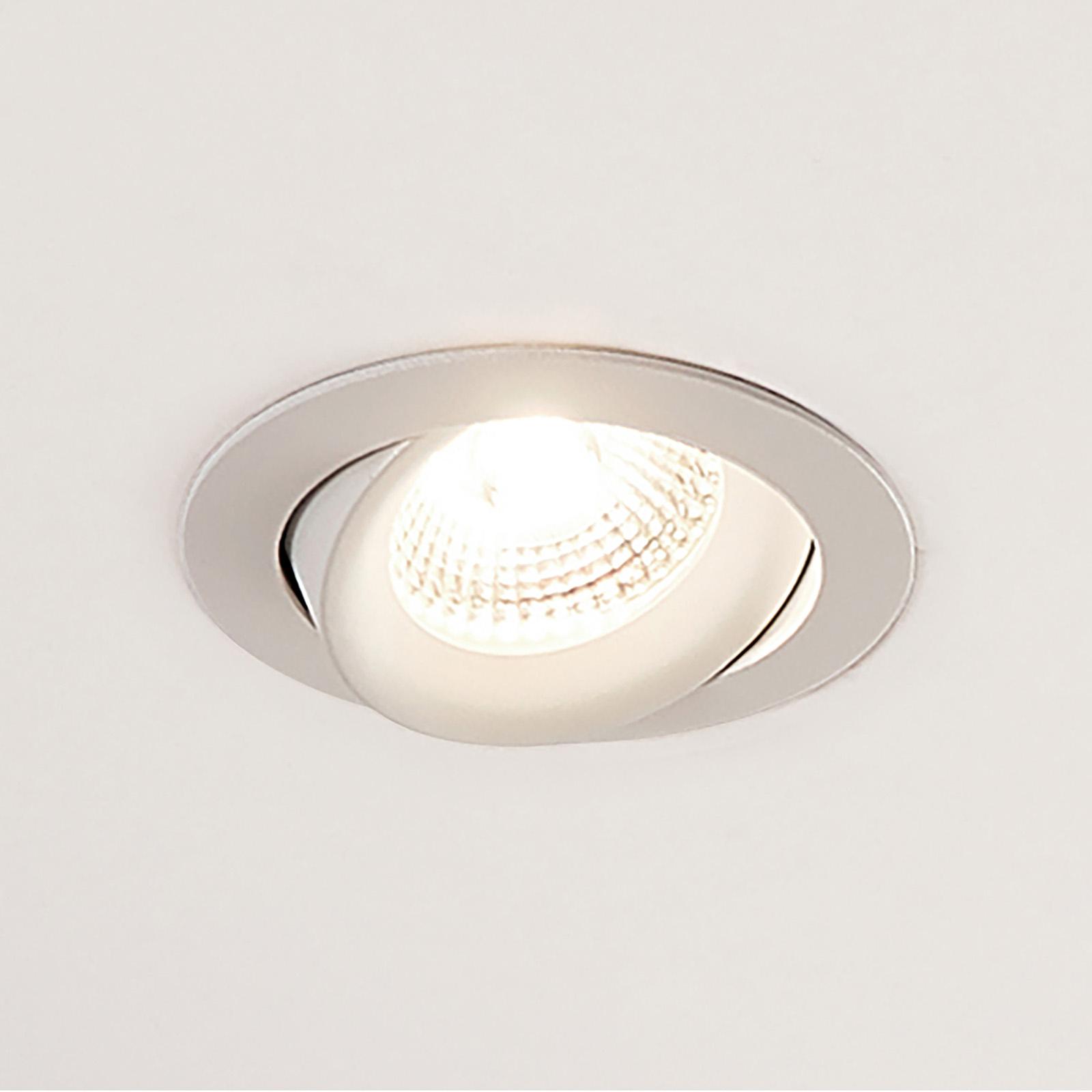 Arcchio Ozias LED inbouwspot wit, 6W