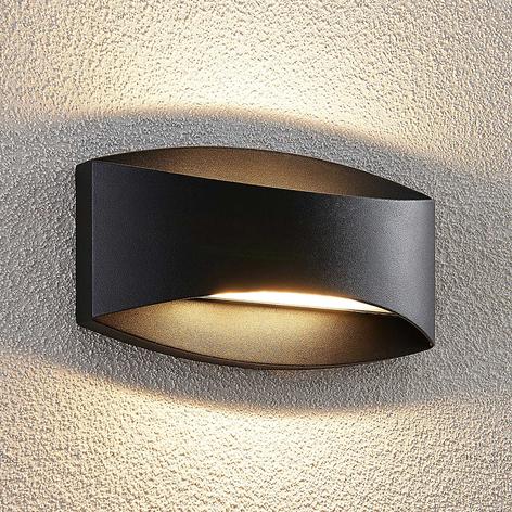 Lindby Evric Applique d'extérieur LED, 20,3 cm