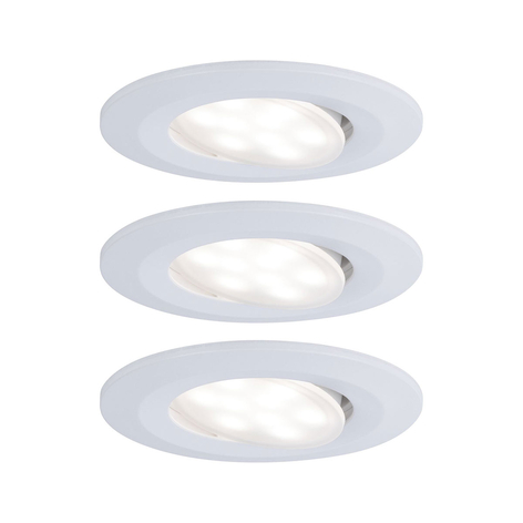 Paulmann LED-Außen-Einbauspot Calla 3er