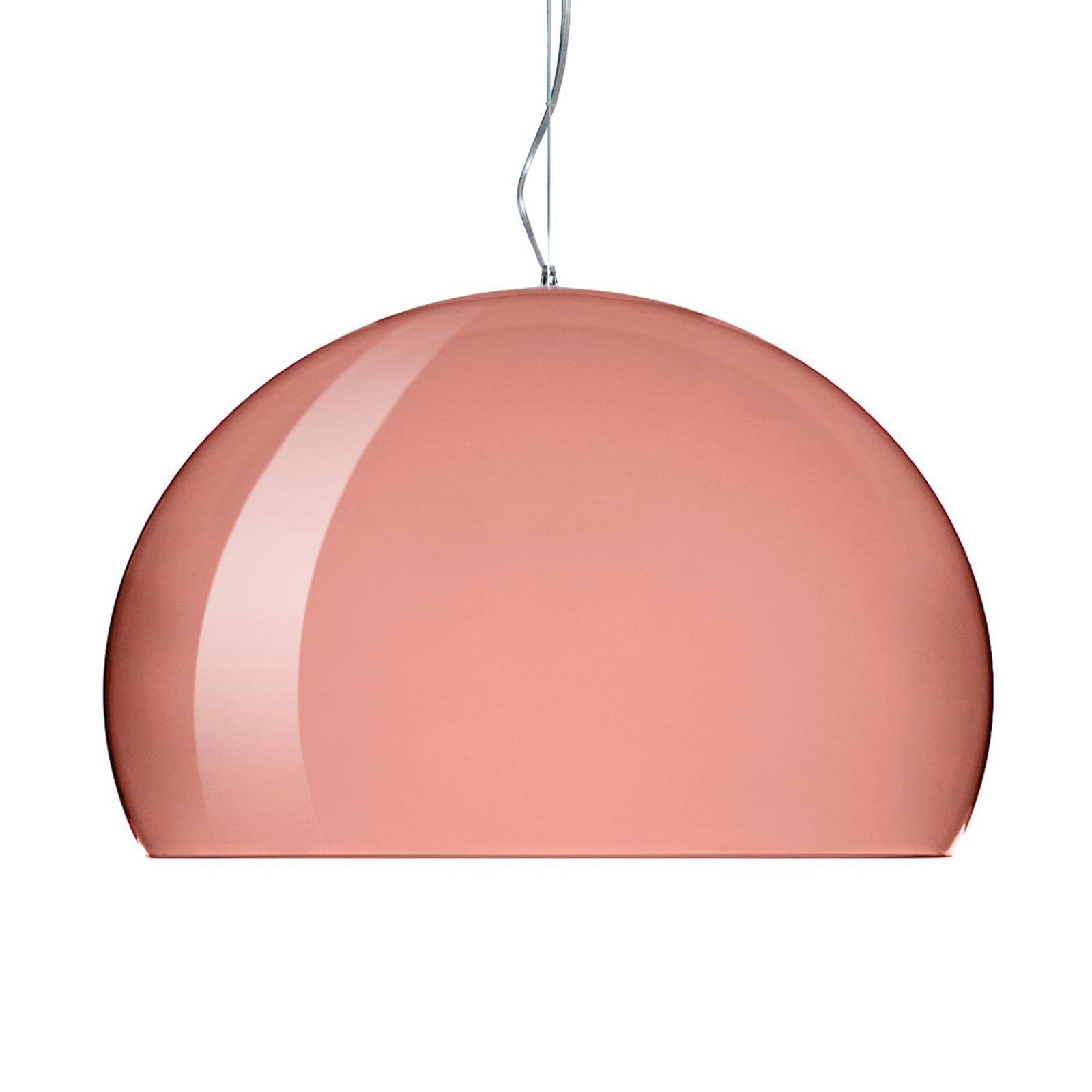 Kartell FL/Y - LED-Pendellampe, kupfer glänzend