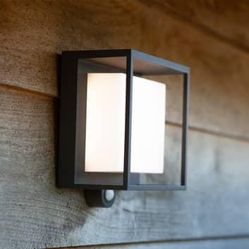 LED-solcellelampe Curtis med bevegelsessensor