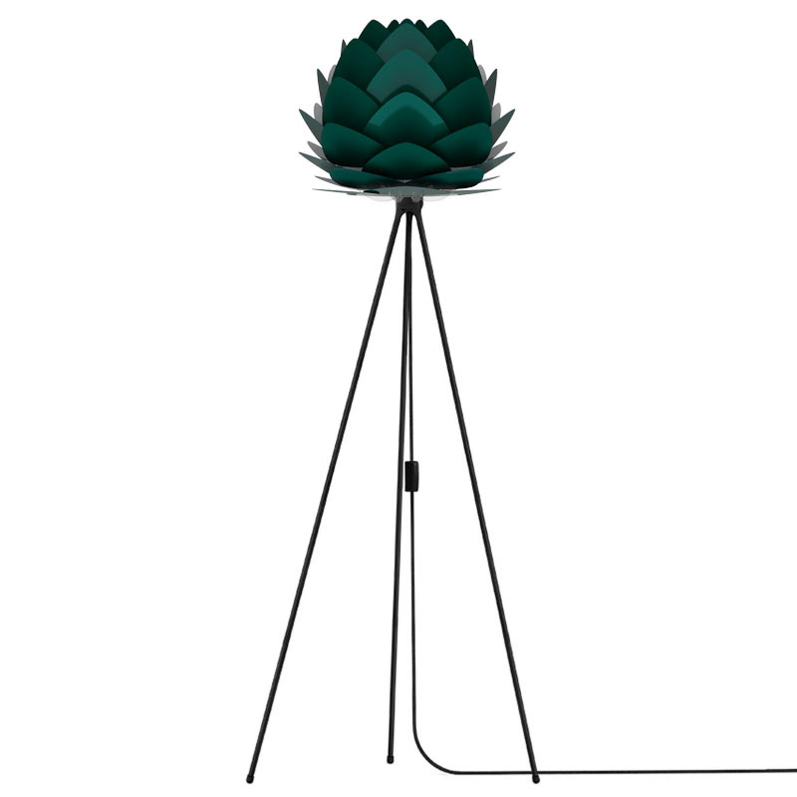UMAGE Aluvia mini vloerlamp zwart/groen