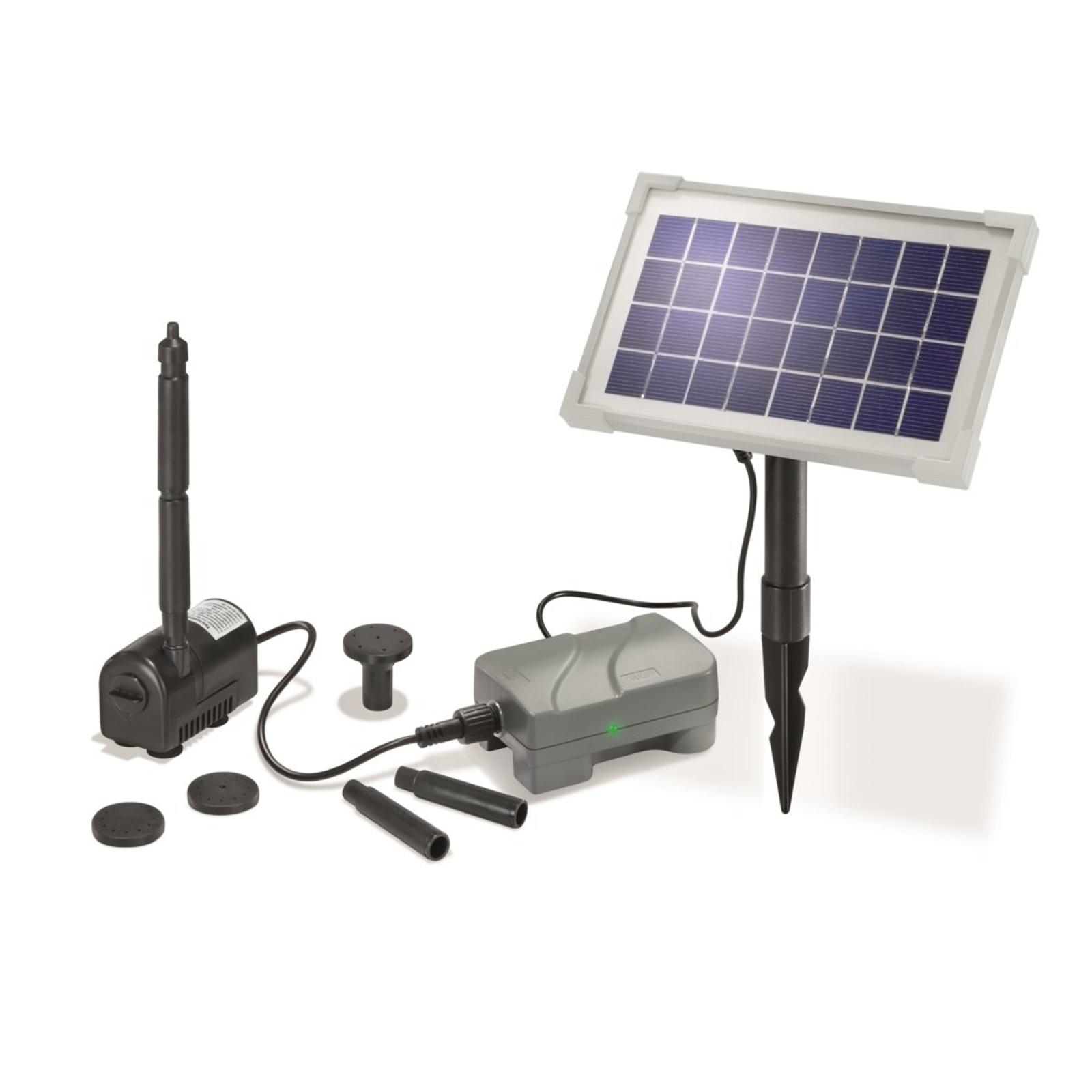 Solar pompinstallatie RIMINI PLUS, met accu