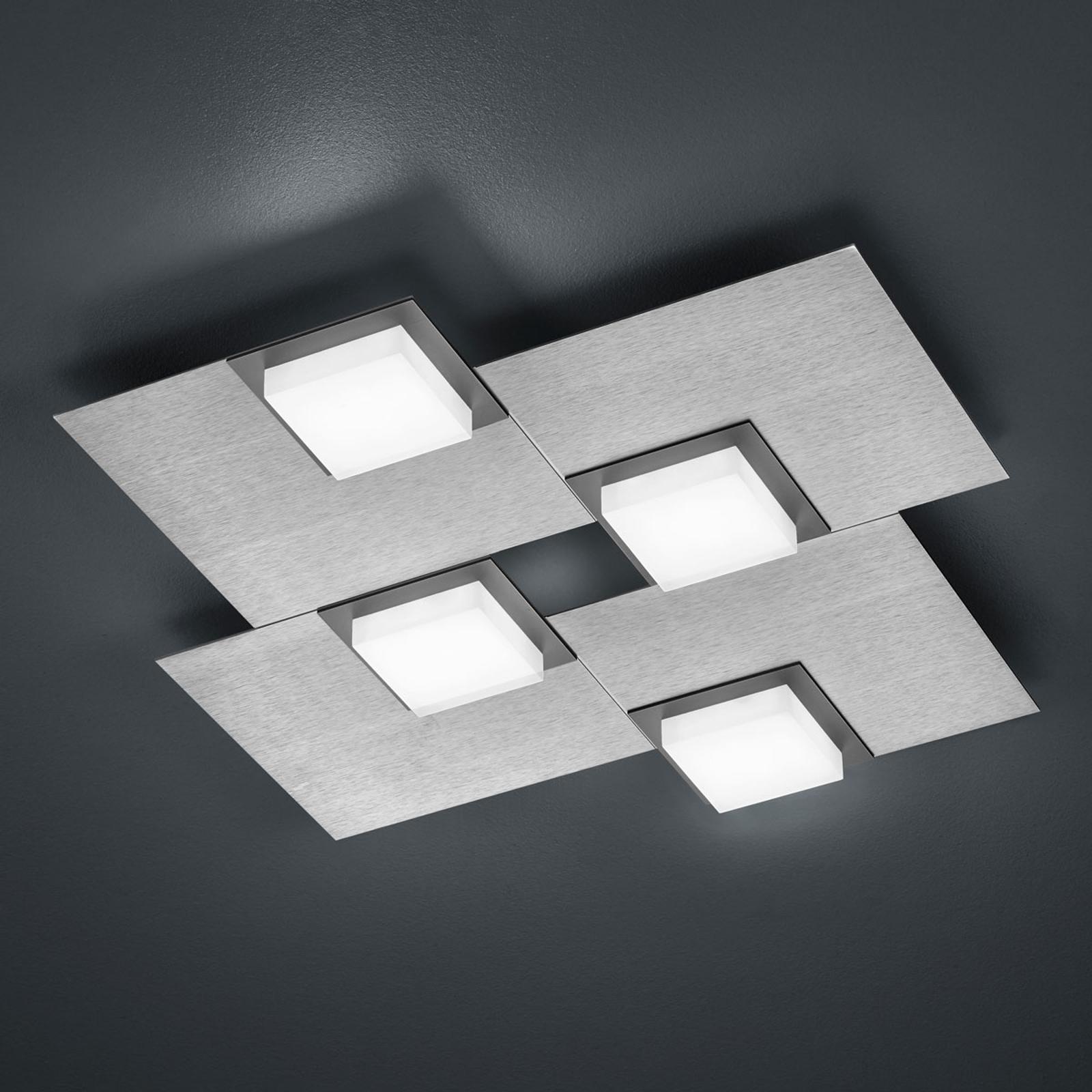 BANKAMP Quadro plafonnier LED 32W argenté