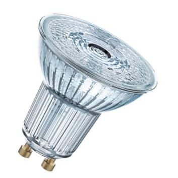 OSRAM-LED-heljastin GU10 4,3W perusvalkoinen 120°