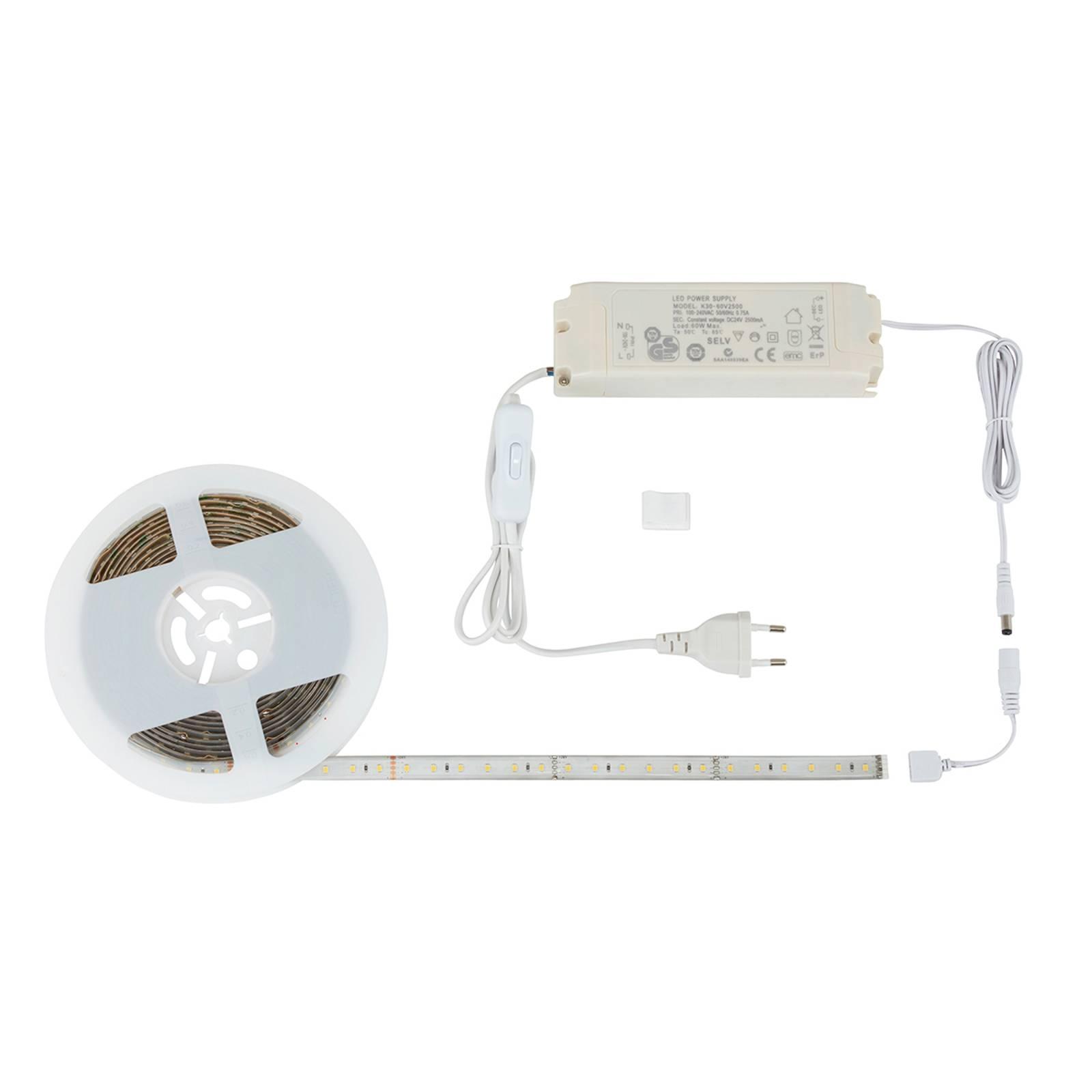 Potente strip LED Flex con interruttore