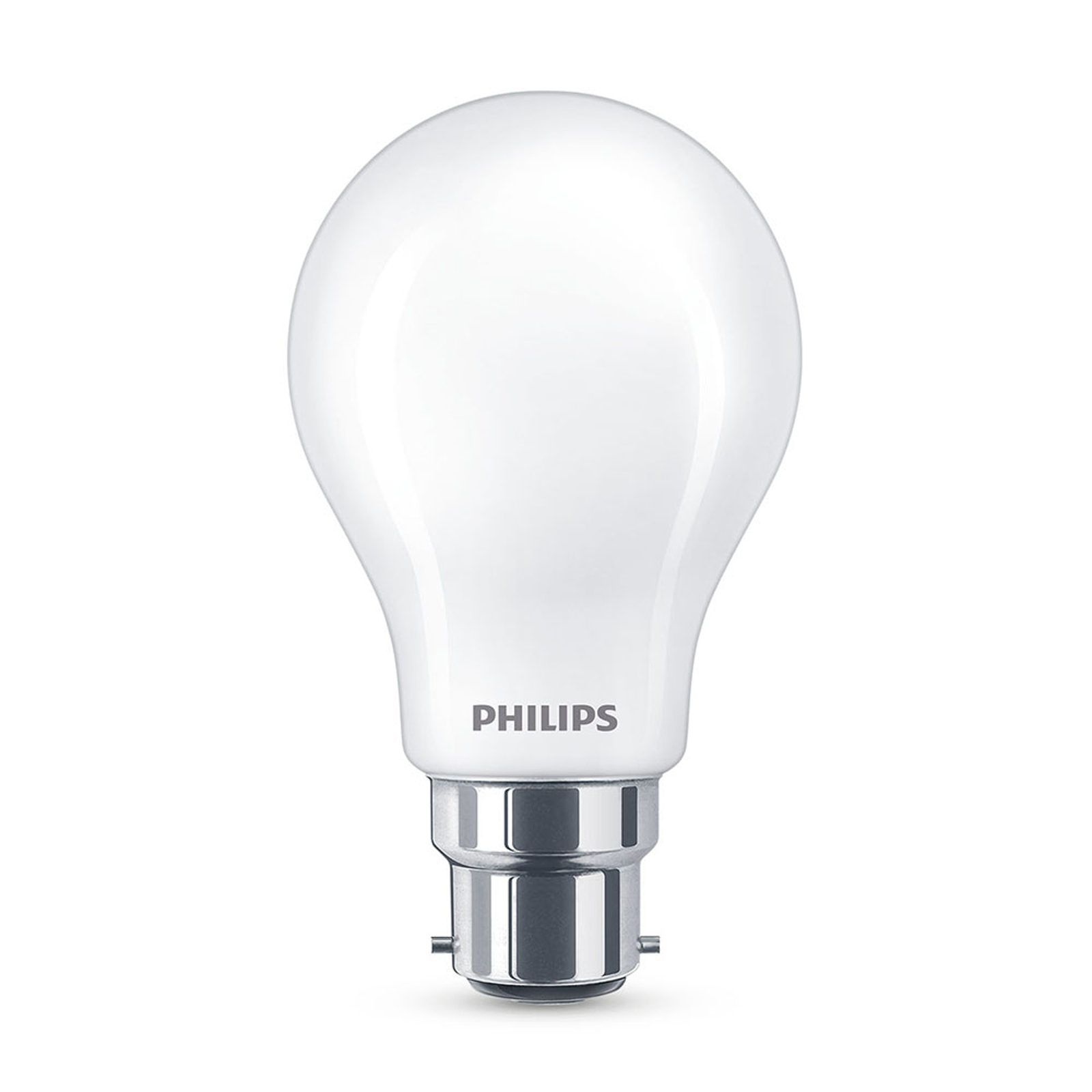 Philips LED-Lampe Classic B22 A60 7W 2.700K matt