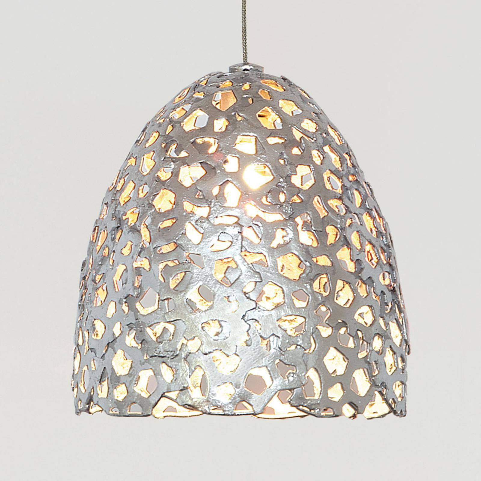 Hanglamp Lily Piccolo, zilver