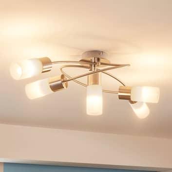 LIndby Erva LED-Deckenlampe, fünfflammig