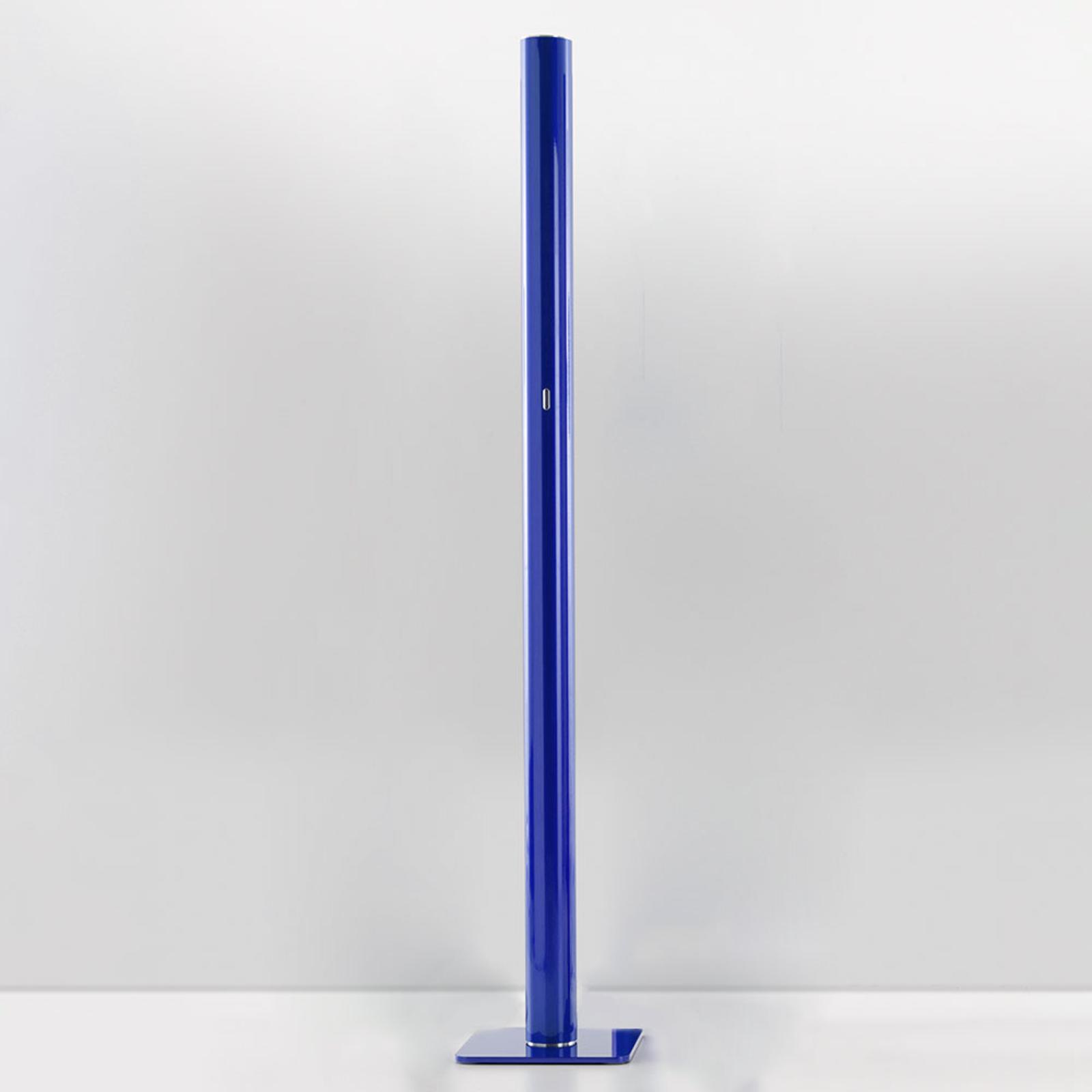 Artemide Ilio – LED-golvlampa, app, blå, 2700K