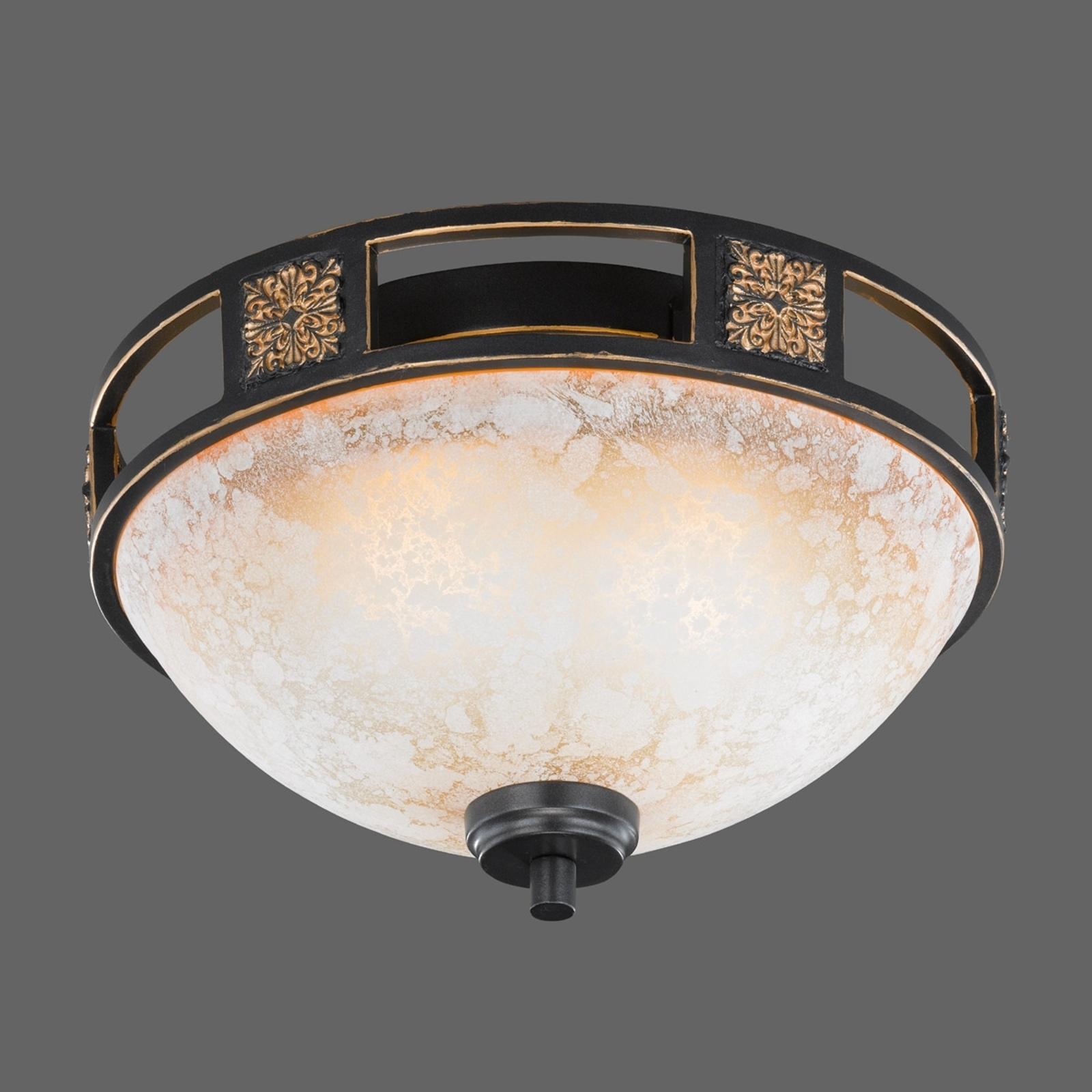 Caecilia lampa sufitowa o antycznej formie 33 cm