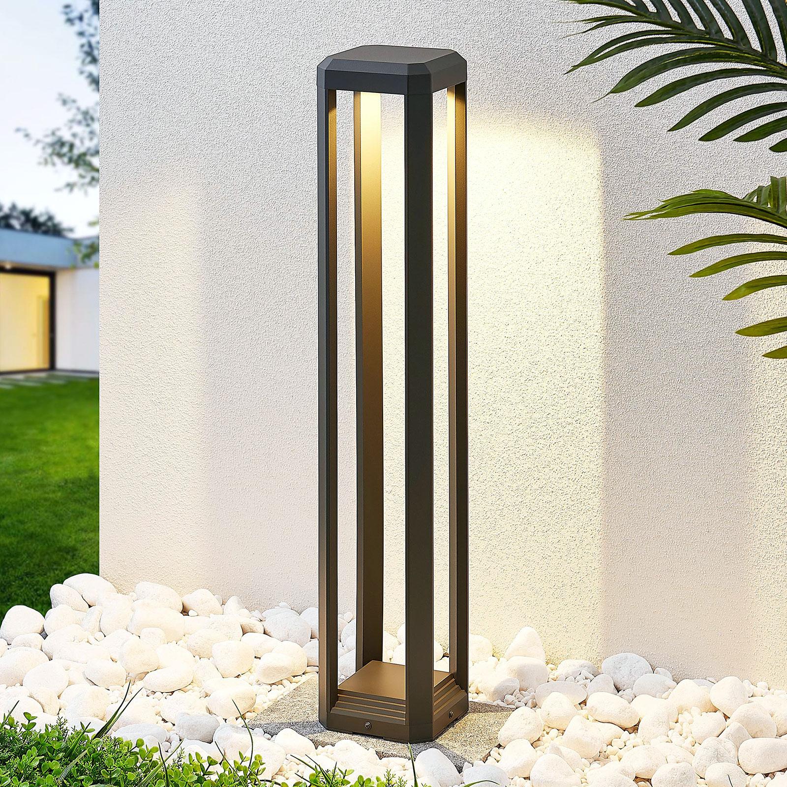 Słupek oświetleniowy LED Fery, antracyt, 80cm