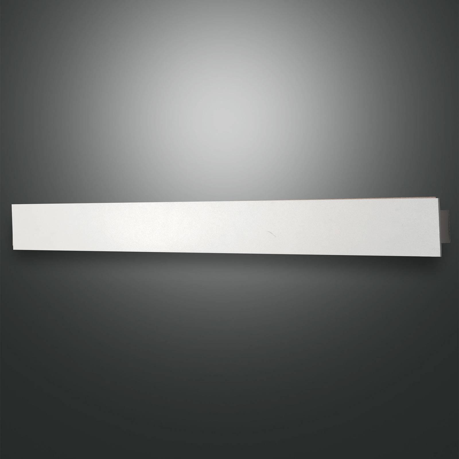 LED-Wandleuchte Lotus, weiß, 93 cm lang