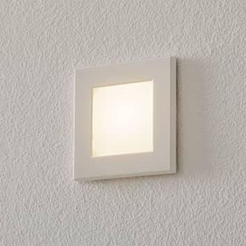 BEGA Accenta LED-Wandeinbaulampe eckig mit Rahmen