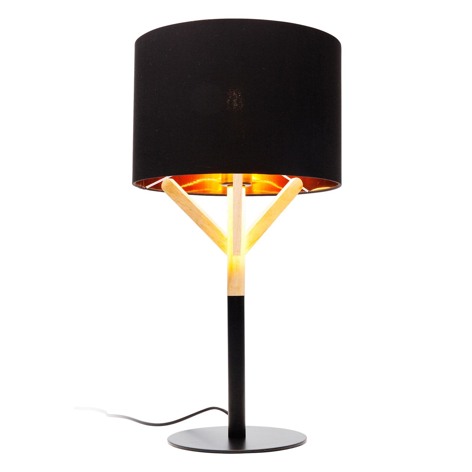 KARE Scandi lampe à poser avec détail en bois