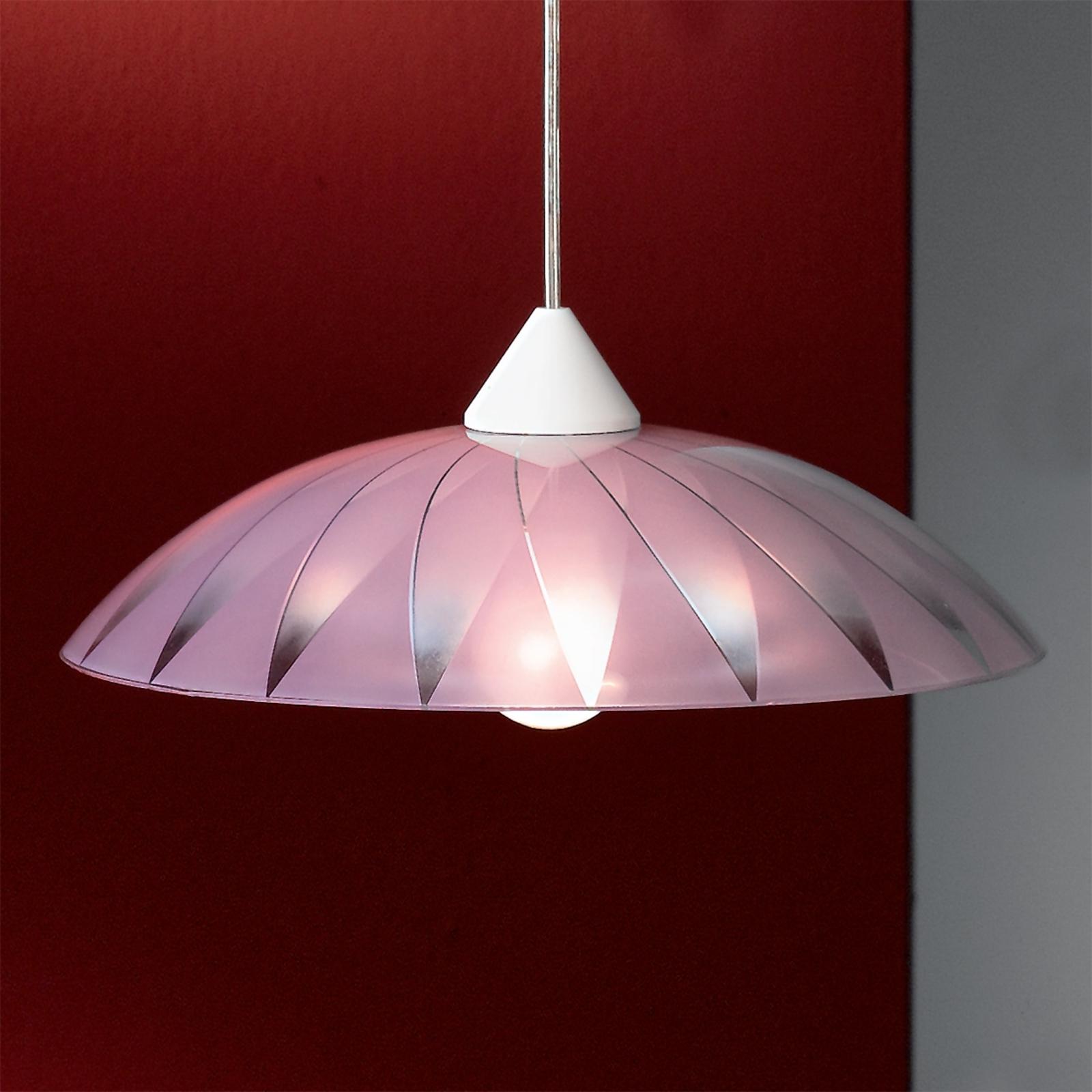 Dekoracyjna lampa wisząca Marelli, fioletowa