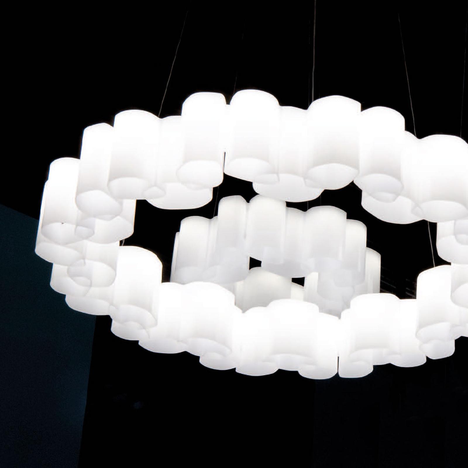 LED hanglamp Honey, dimbaar, rond, 58 cm
