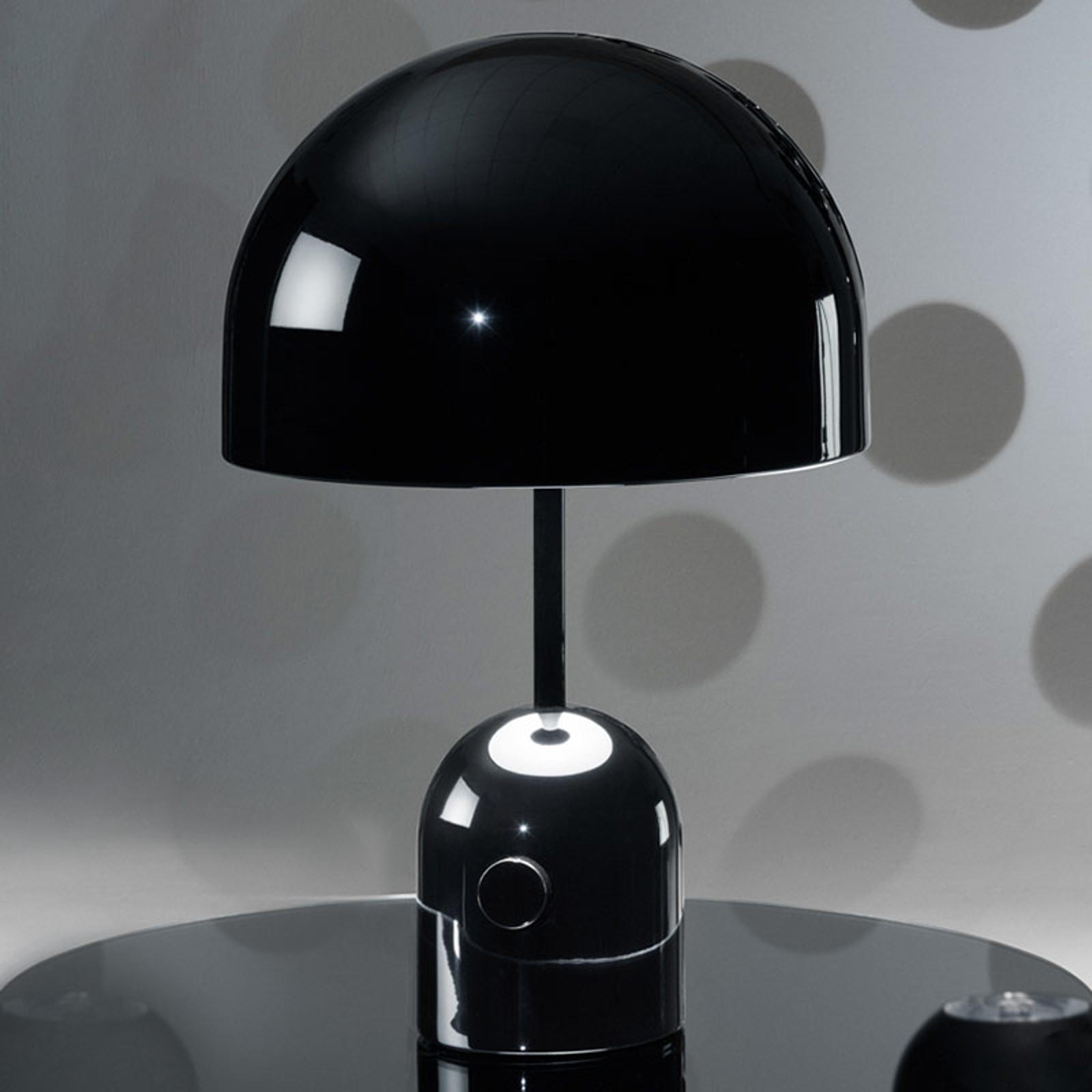 Tom Dixon Bell Table - Design-Tischleuchte schwarz