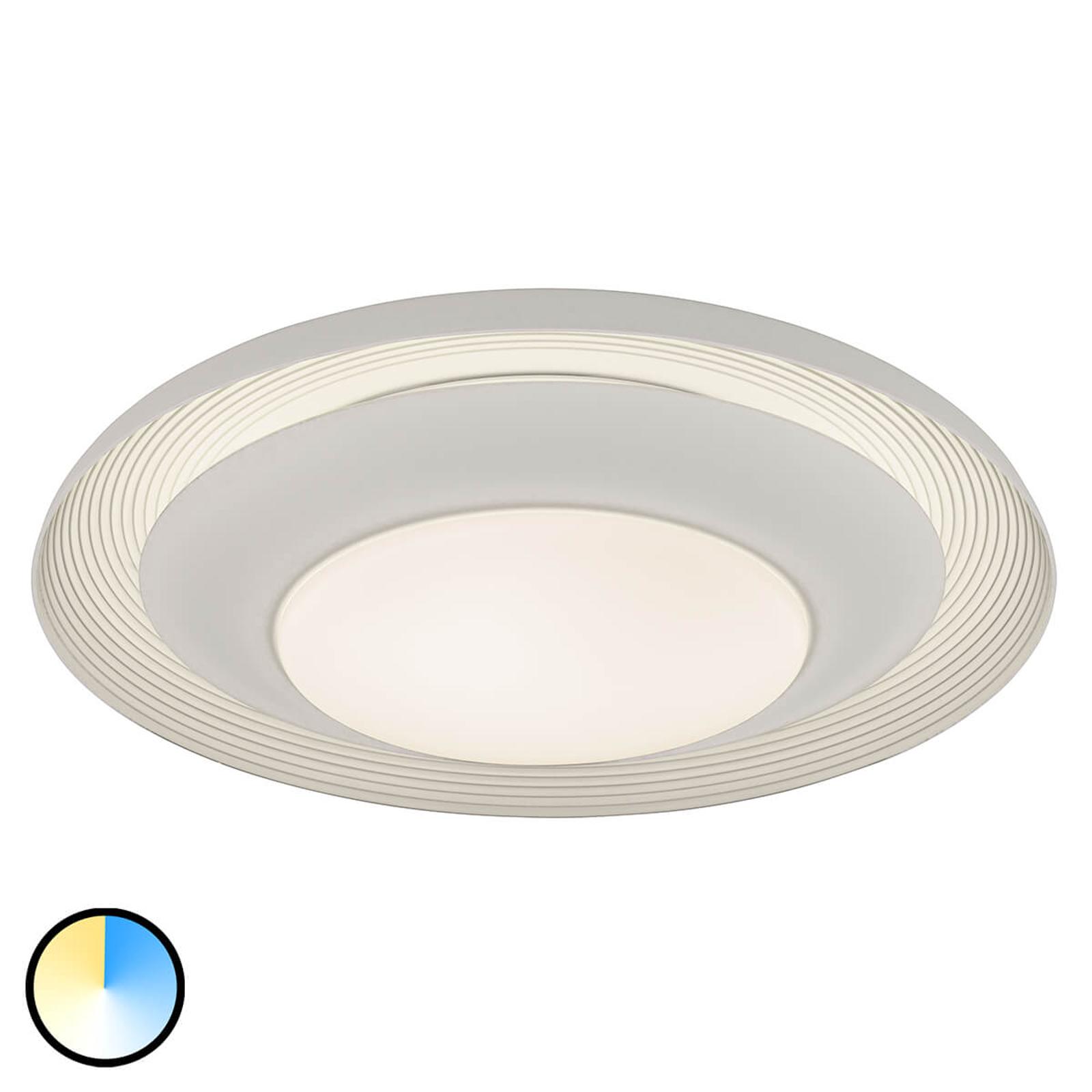 Lysfarge kan skiftes - LED-taklampe Canicosa