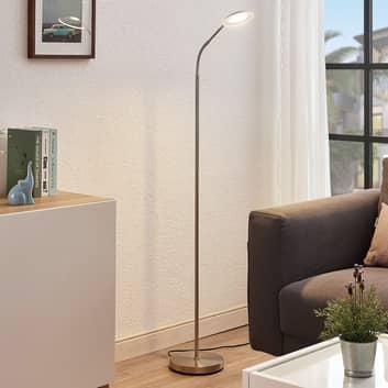 Lampada LED da lettura Meghan, regolabile, nichel