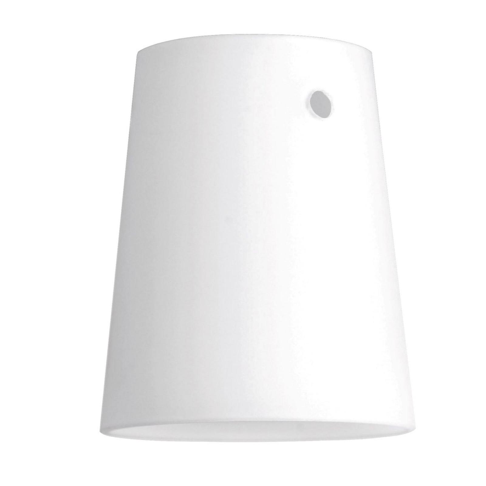 Paralume per spot LED HV-track4, conico 7 cm