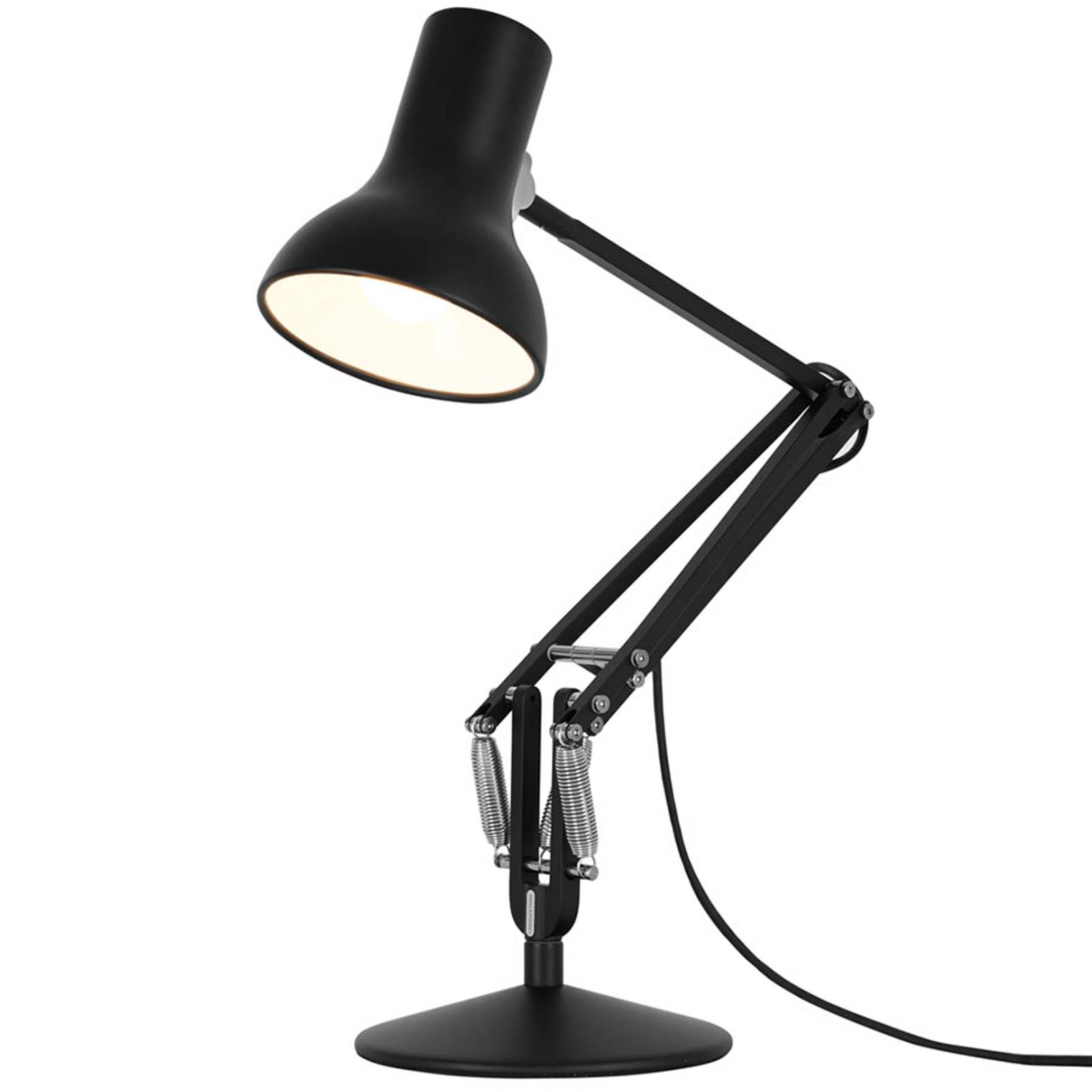 Anglepoise Type 75 Mini lampe à poser noire