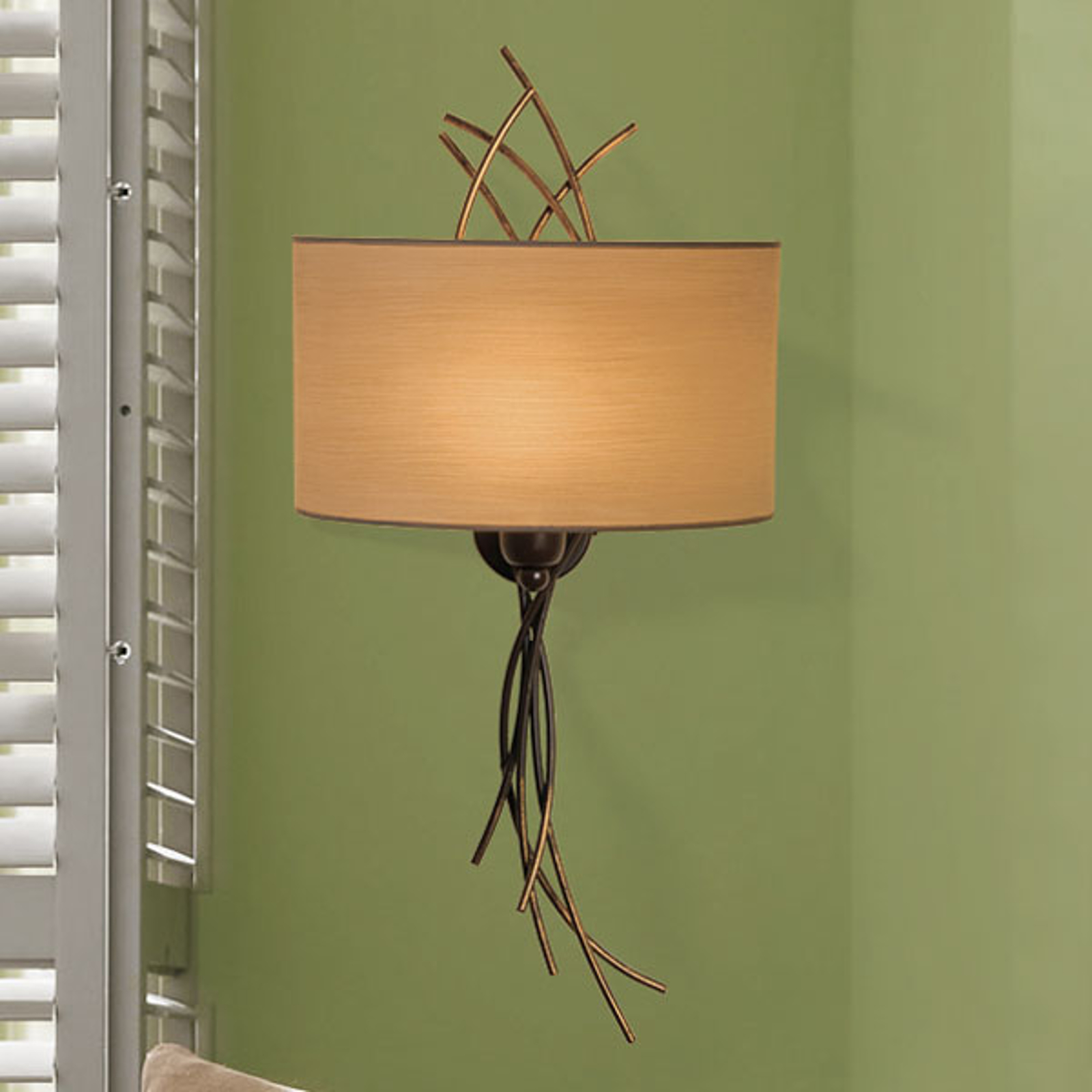 Menzel Living Oval - dekorative Wandleuchte