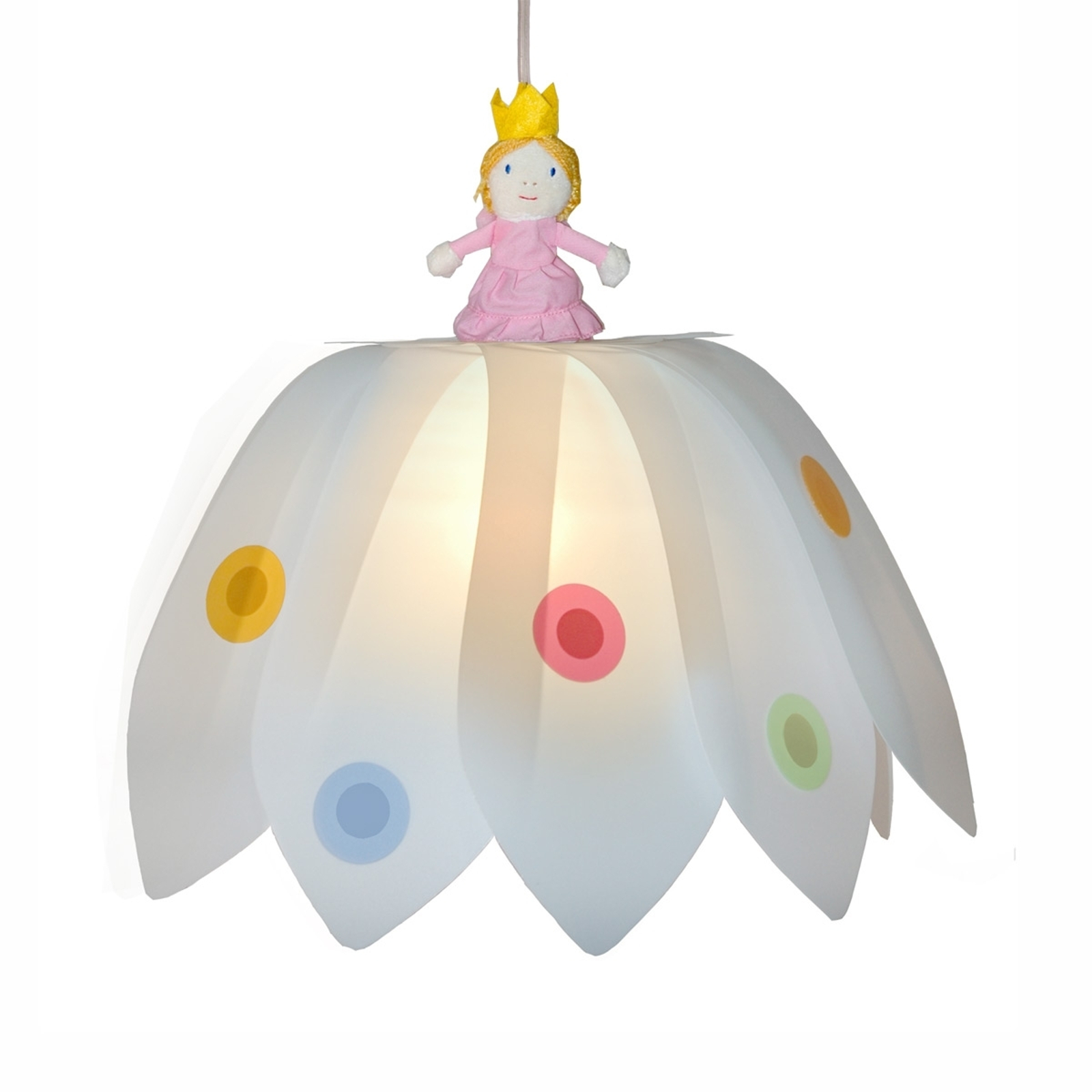 Betoverende hanglamp Bloemenprinses