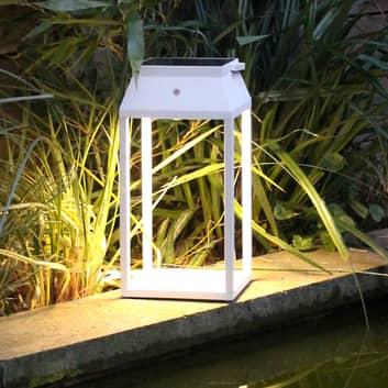 Lanterna solare LED Louis, bianco