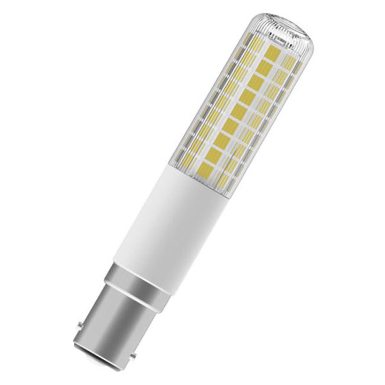 OSRAM LED-Lampe Special T B15d 9W 2.700K dimmbar