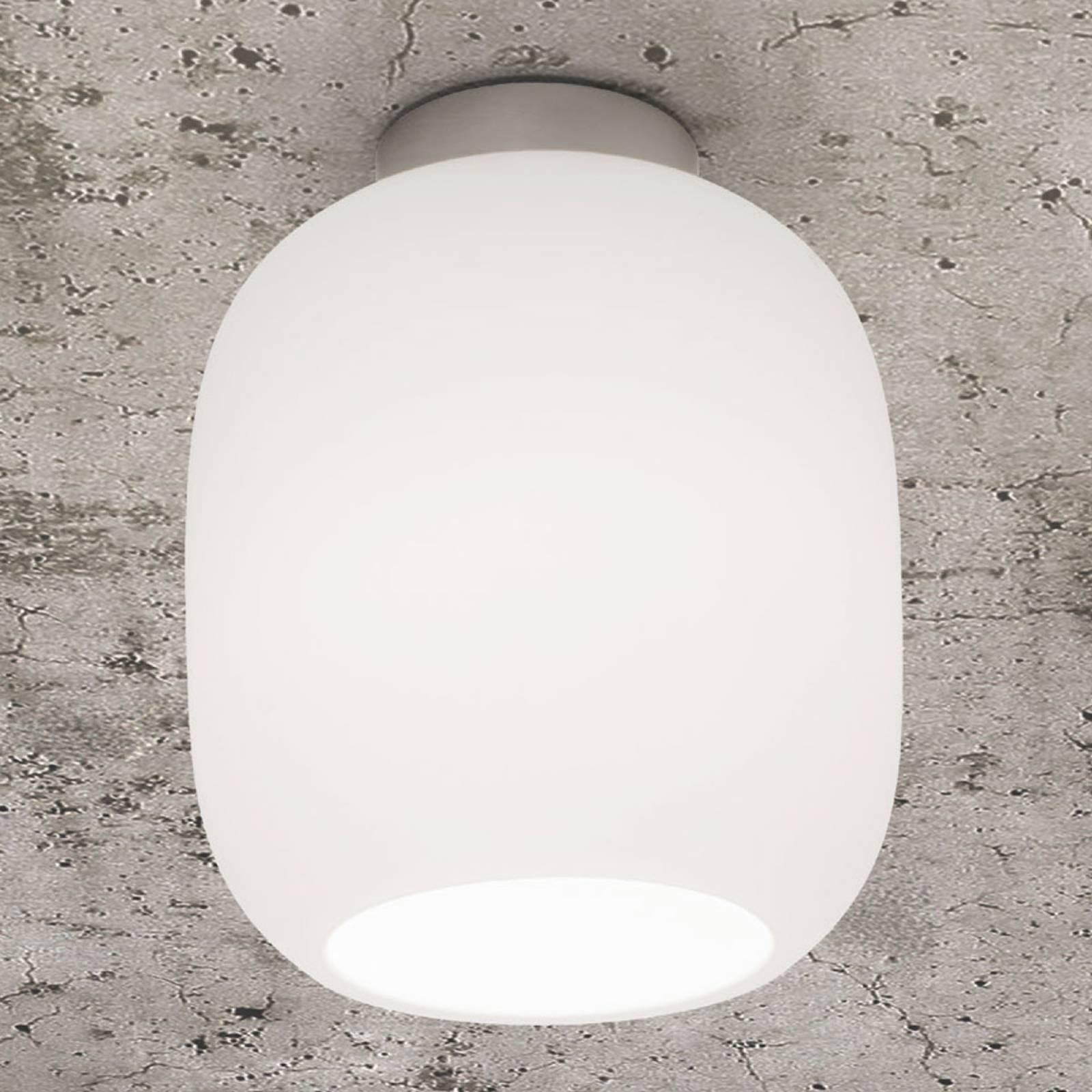 Casablanca Murea lampa sufitowa, opalowa Ø 13 cm