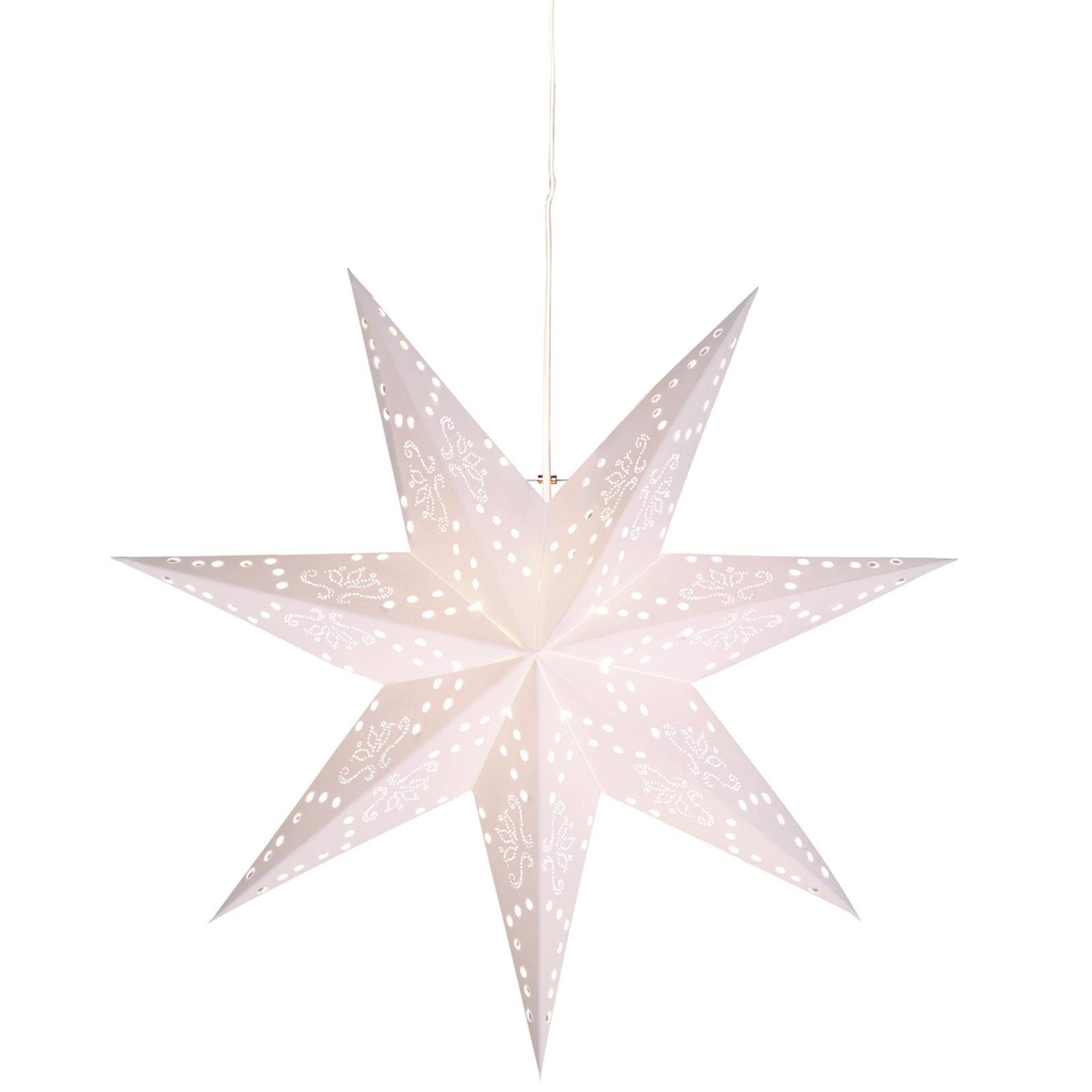 Hängender Papierstern Romantic Star