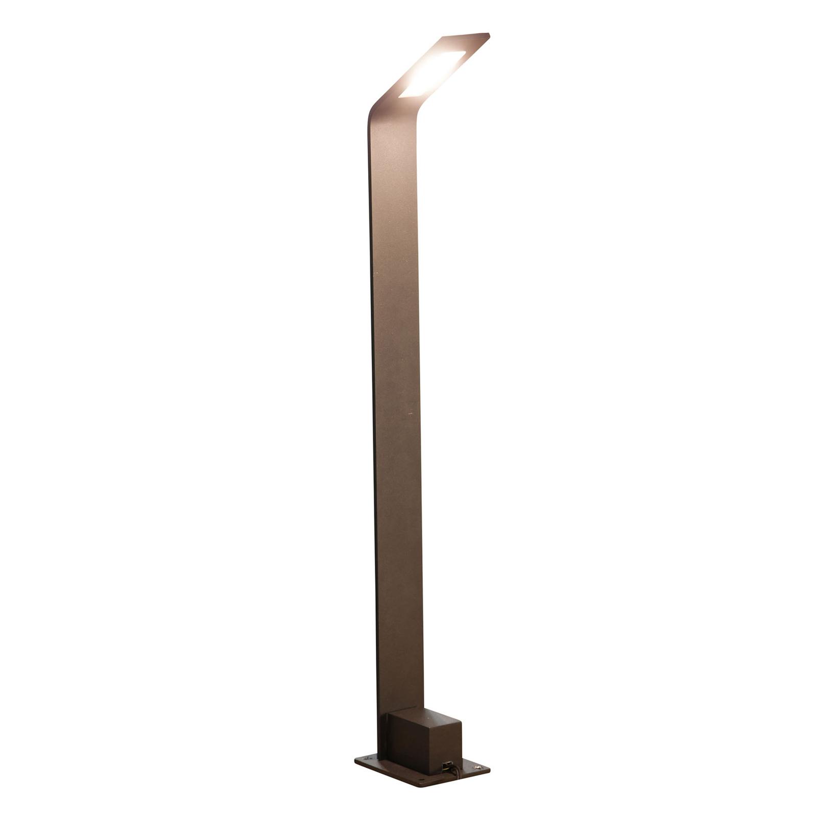 HEISSNER SMART LIGHTS gatelampe, antrasitt, 75 cm