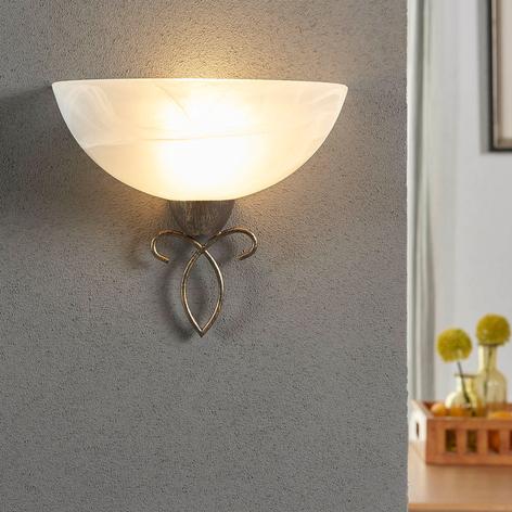 Mohija - lampada da parete in stile romantico