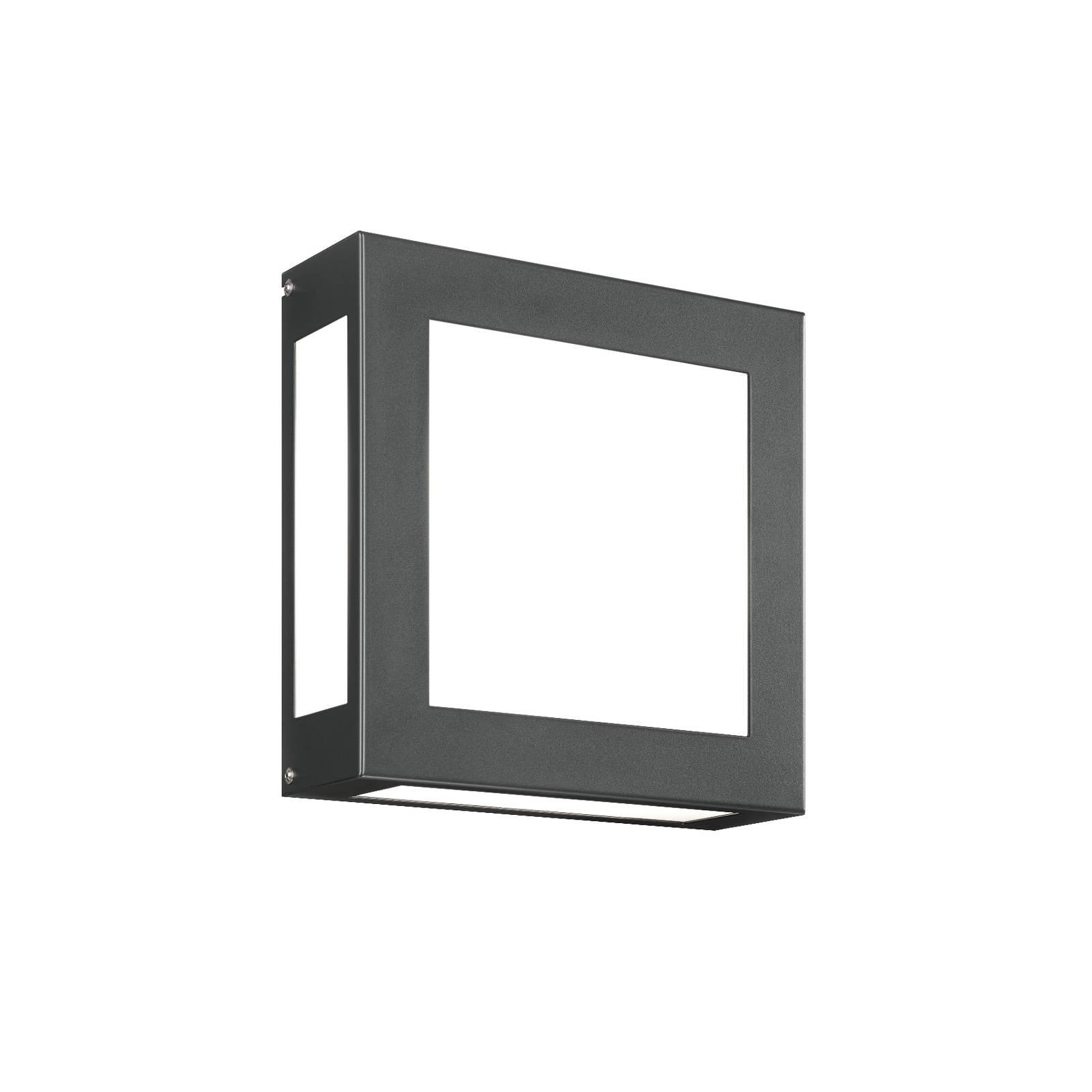 LED-Außenwandleuchte Aqua Legendo, anthrazit