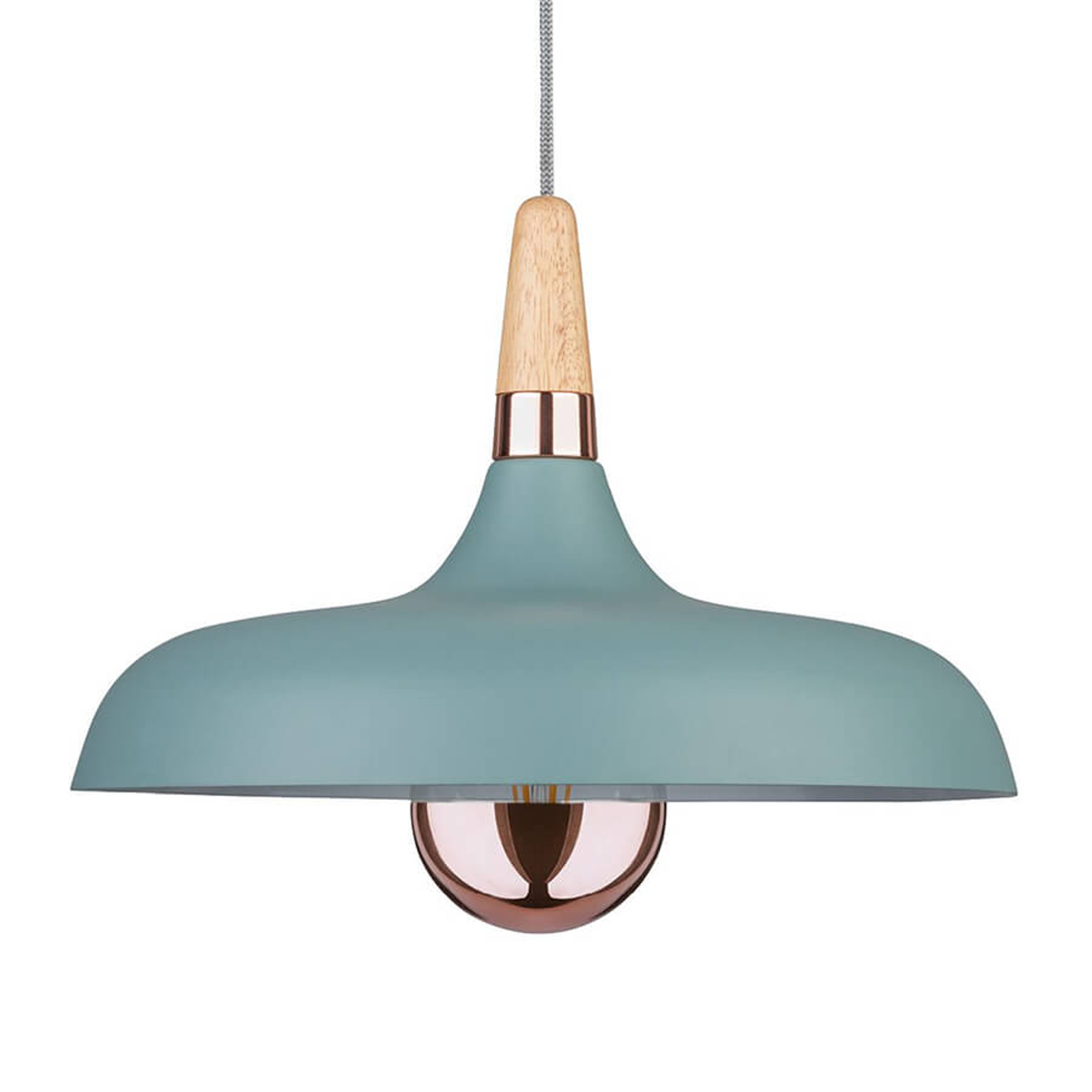Paulmann Juna lámpara colgante, 1 luz, Ø 34,2 cm