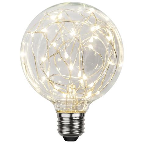 LED globe E27 1,5W G95 Dew Drop 2.900K trasparente
