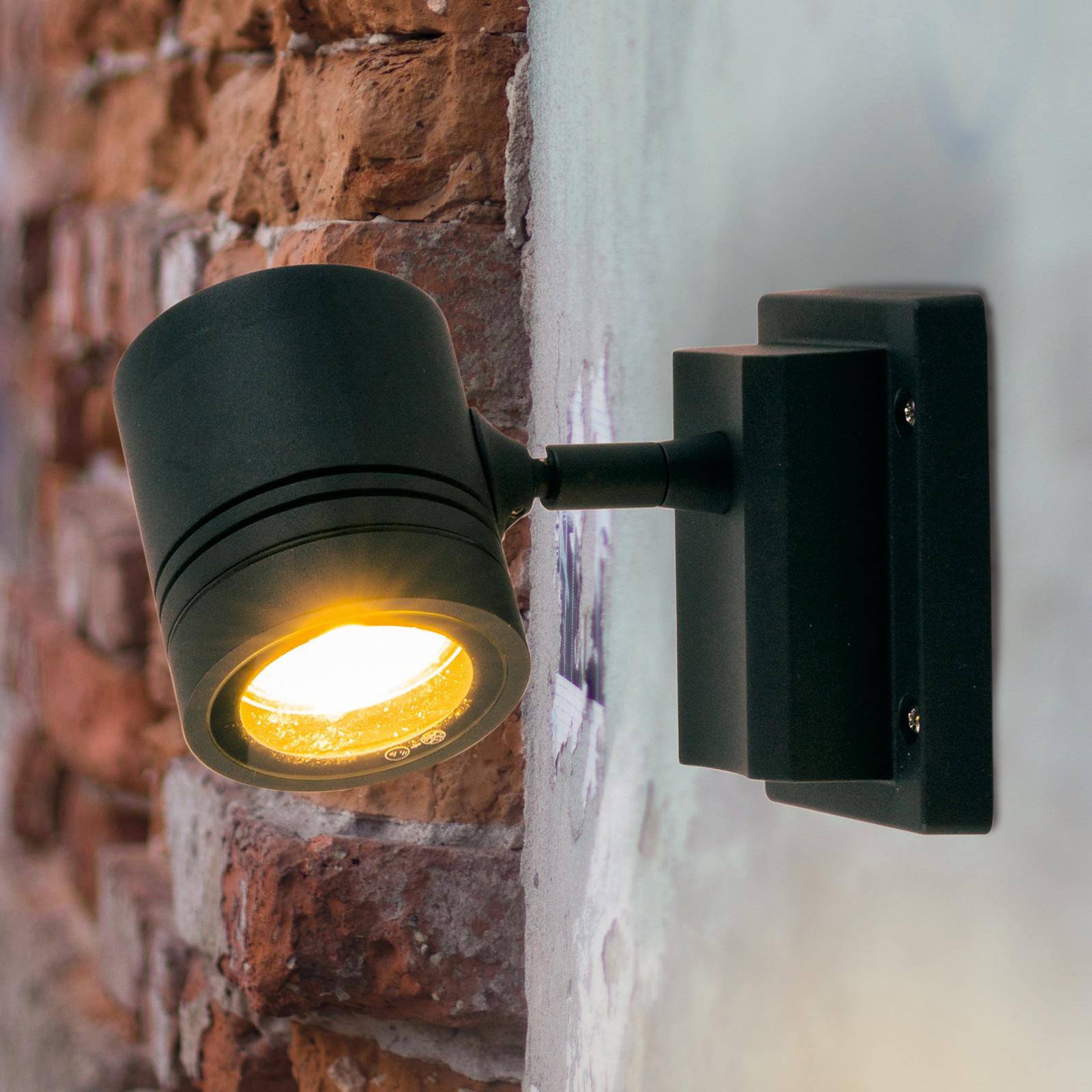 Applique d'extérieur Borneo à 1 lampe et réglable