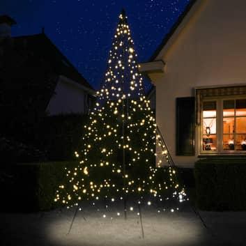 Fairybell® juletræ med midterstang, 3 m 480 LED'er