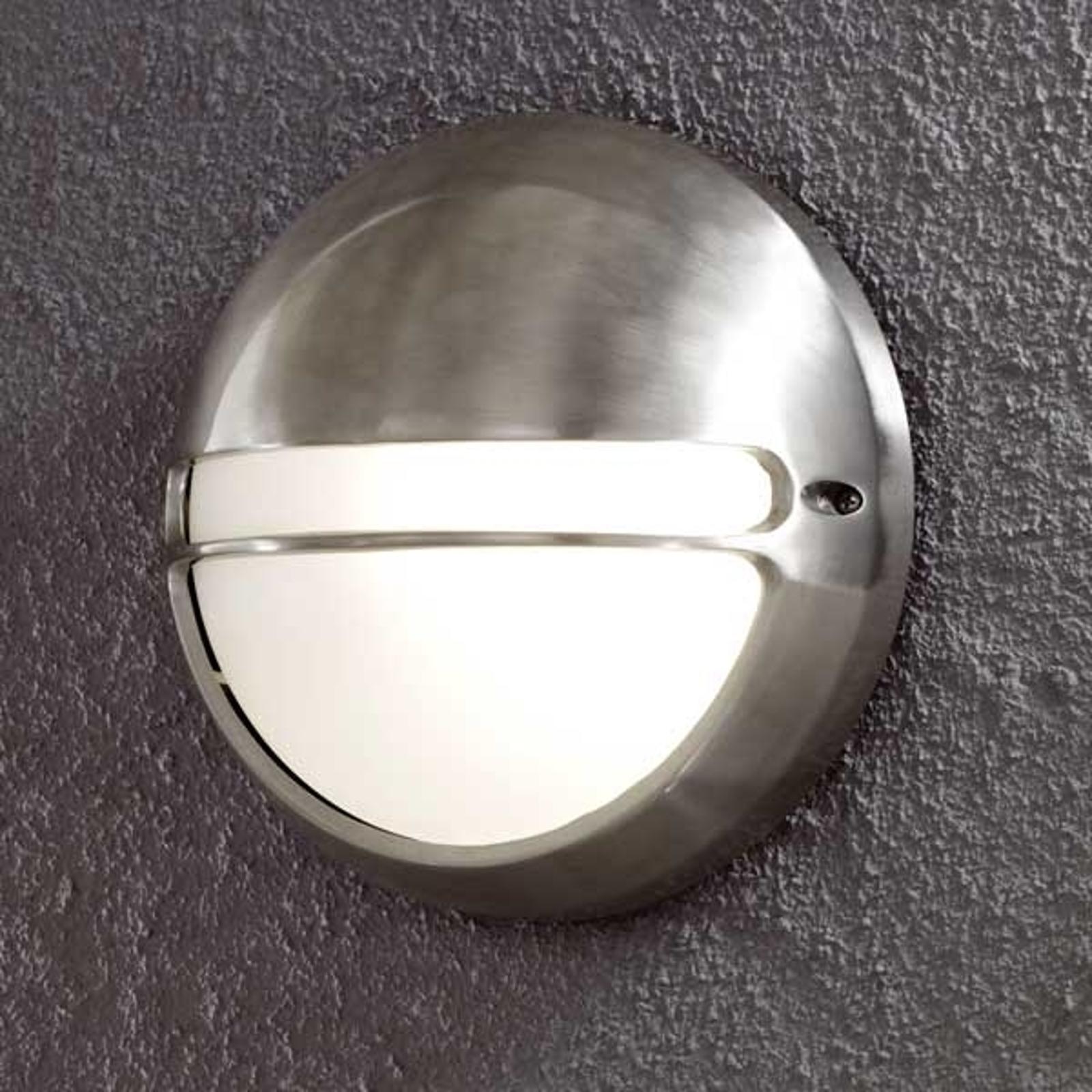 Zewnętrzna lampa ścienna TORINO, okrągła