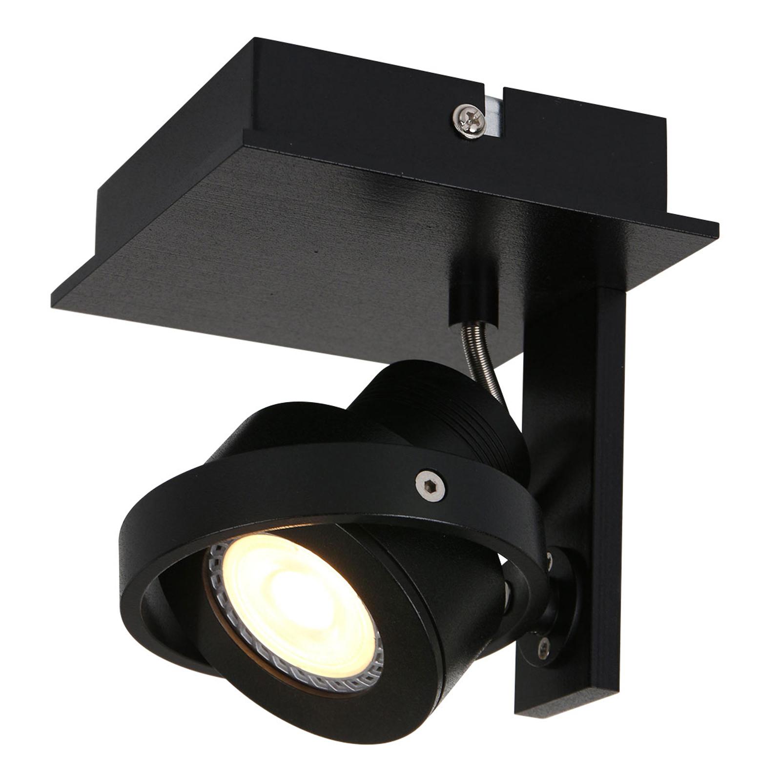 Reflektor ścienny LED Westpoint 1-punktowy czarny
