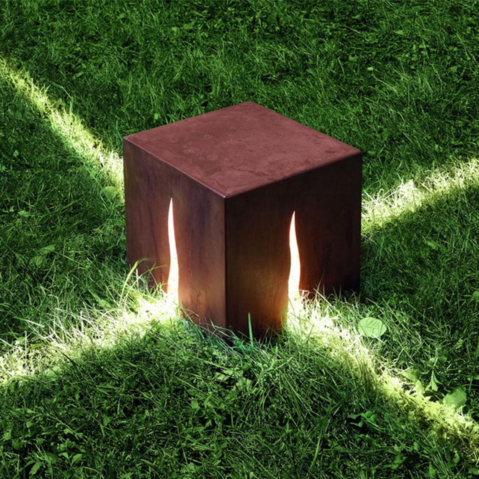 Artemide Granito 30 sokkellampe, rust