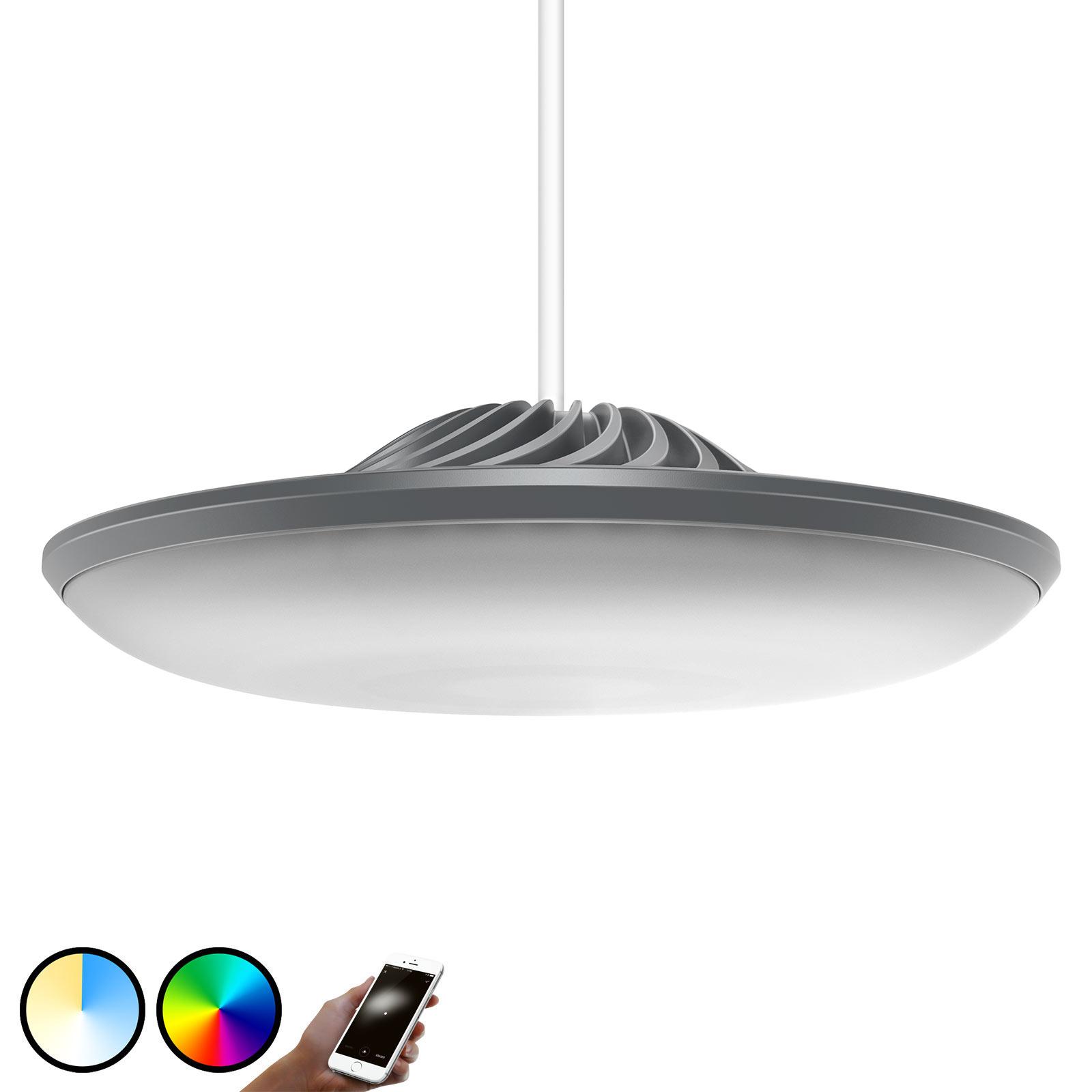 Luke Roberts Model F -LED-riippuvalaisin, harmaa