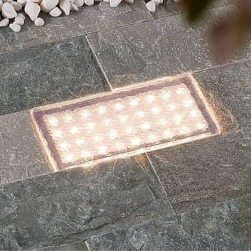 Arcchio Ewgenie LED-nedgravningslampe, 20 x 10 cm