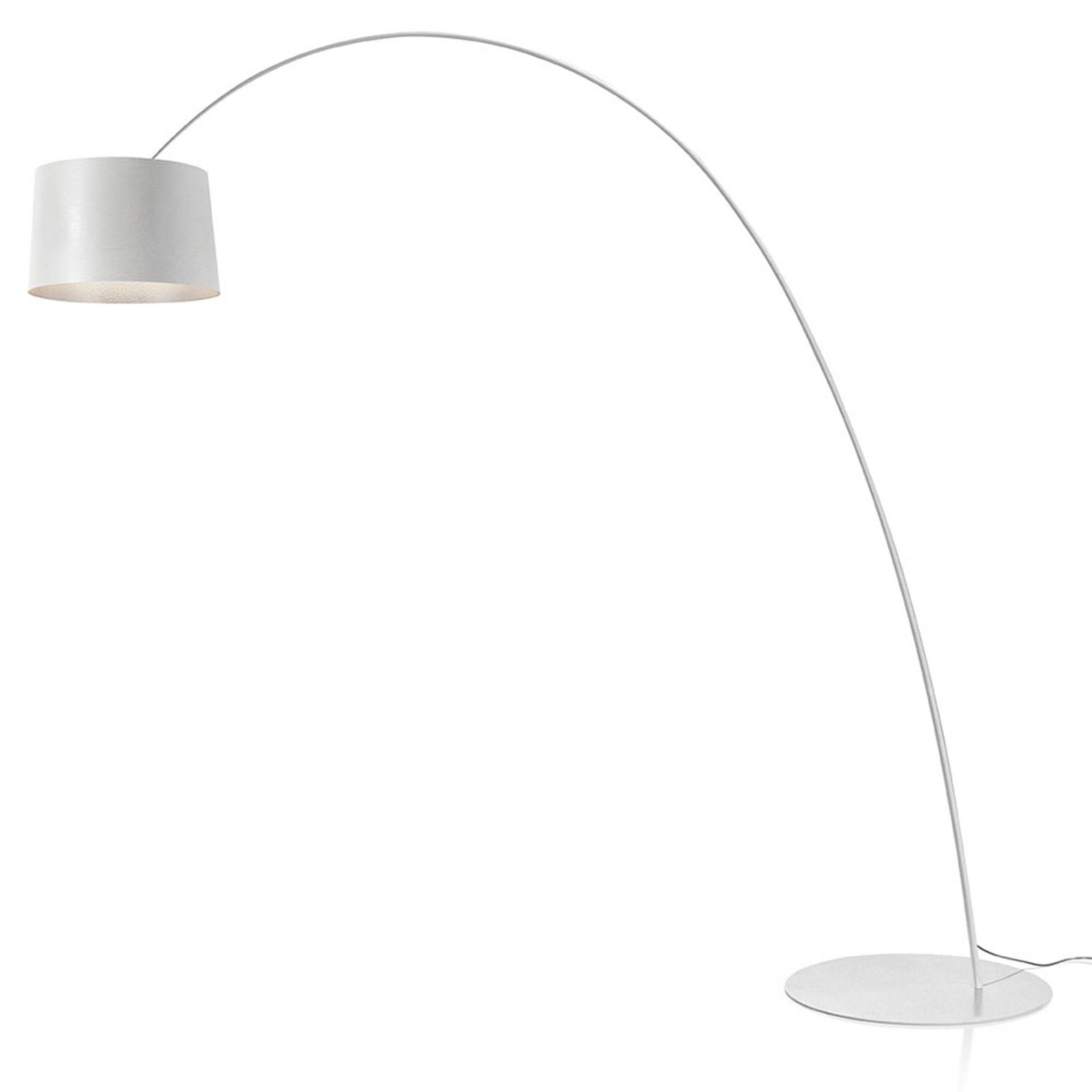 Foscarini Twiggy Elle LED-golvlampa vit