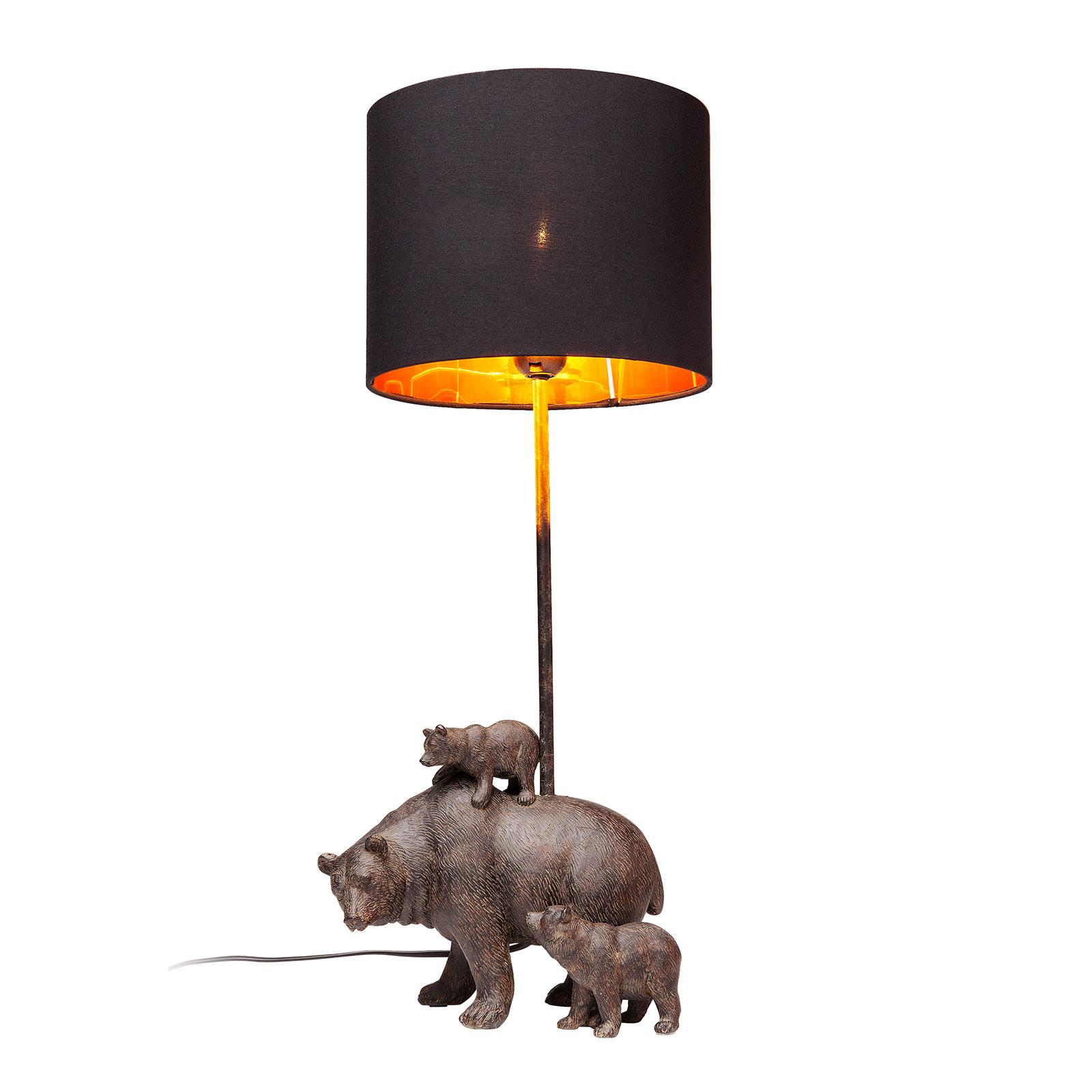 KARE Bear Family lampada da tavolo