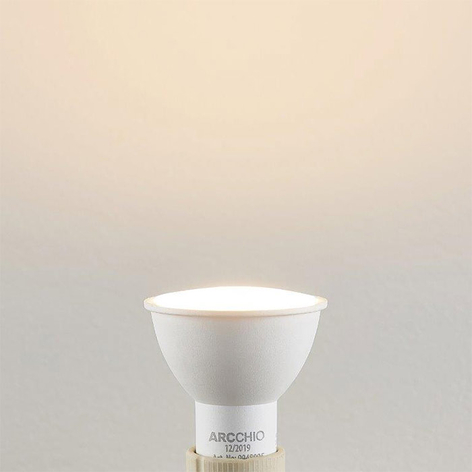 Lampadina LED a riflettore GU10 7W 3.000K 120°