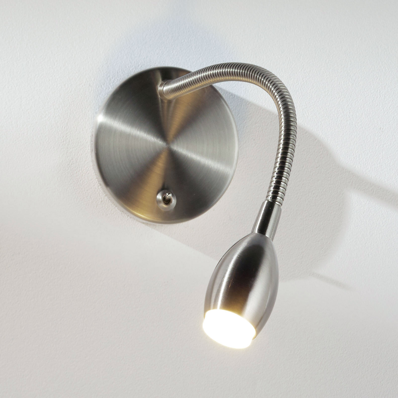 Flexi-arm wall light MARTA with LED, nickel_1050009_1