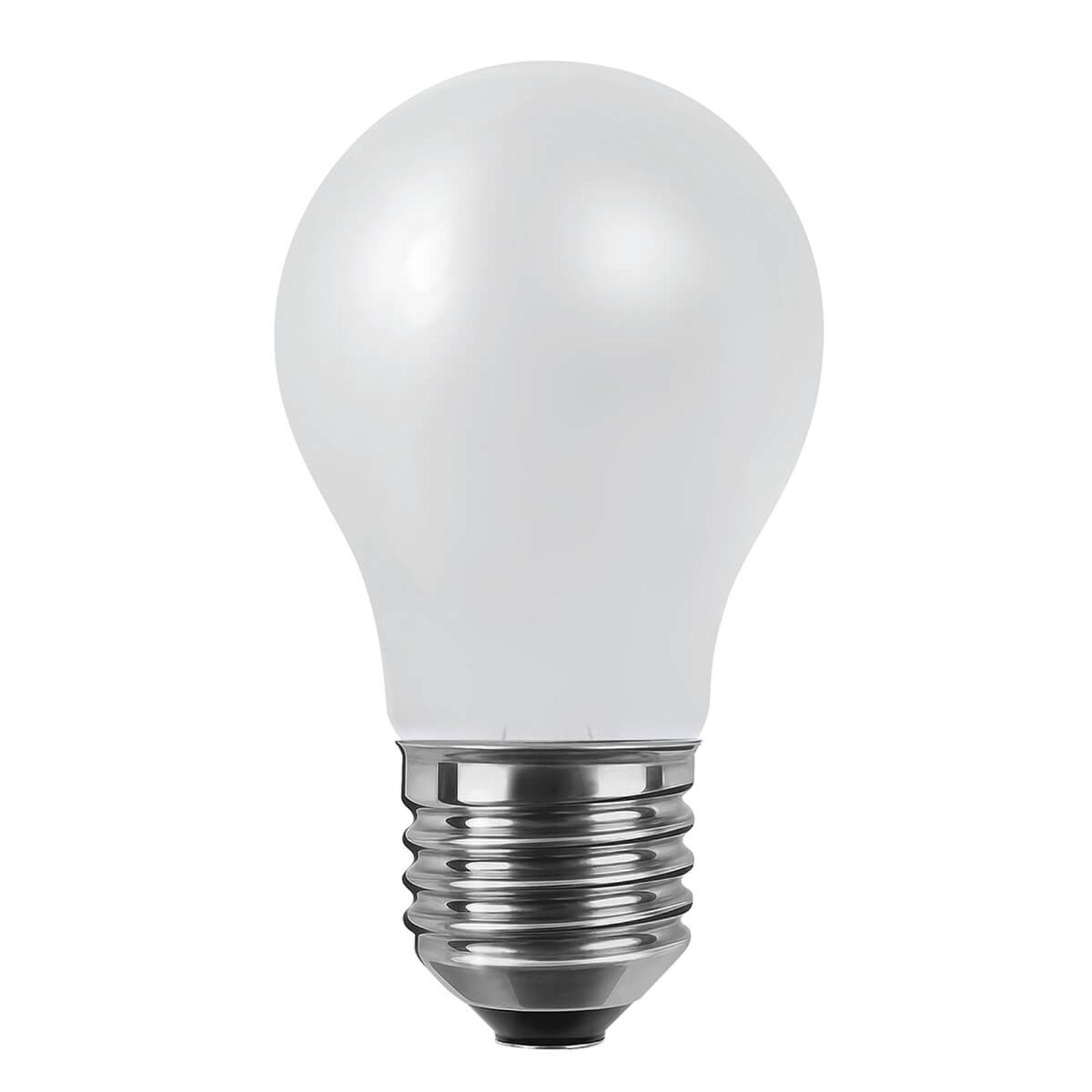E27 8W 2.600K Ra90 lampadina LED opaco